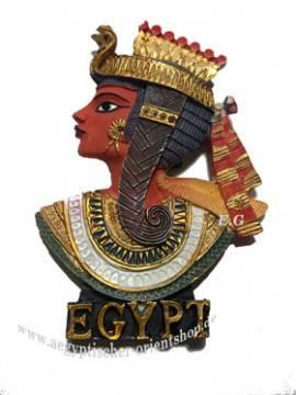 Ägyptische Deko Magnete Nefertari. 8 cm - Bild vergrößern
