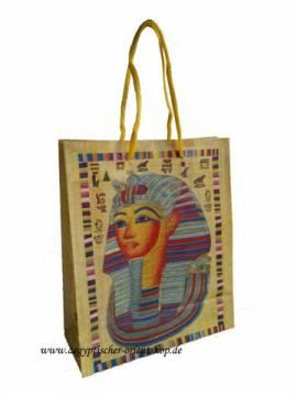 Geschenktüte Tutanchamun. 22cm. - Bild vergrößern