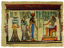 Ägyptischer Papyrus. Nr-2056 - Bild vergrößern