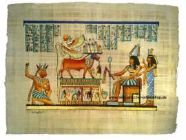 Ägyptischer Papyrus. Nr-510 - Bild vergrößern