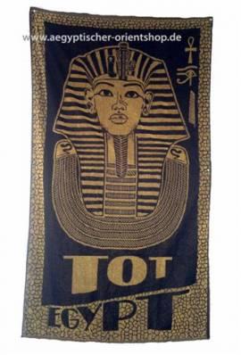 Duschtuch Pharao Tutanchamun. Nr.724 - Bild vergrößern