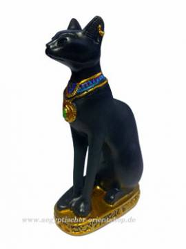 Ägyptische Figur Bastet. Katze - Bild vergrößern