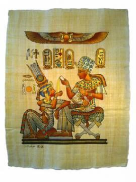 Ägyptischer Papyrus Lebenvergnügen - Bild vergrößern