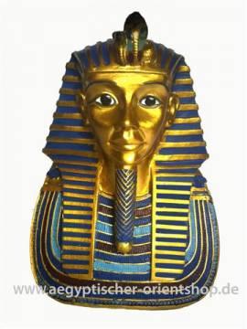 Büste Pharao Tutanchamun - Bild vergrößern