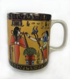 Porzellantasse Horus & Tutanchamun. Nr-825 - Bild vergrößern