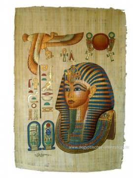 Papyrus Tutanchamun - Bild vergrößern