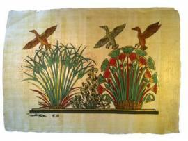 Papyrus Pflanzlichen und Tierischen Lebens. - Bild vergrößern
