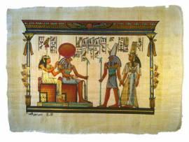 Papyrus Horus, Amentet und Ra-Horakhty - Bild vergrößern