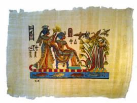 Papyrus Königliche Umgebung - Bild vergrößern