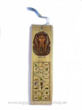 Lesezeichen Papyrus. Nr. 136 - Bild vergrößern