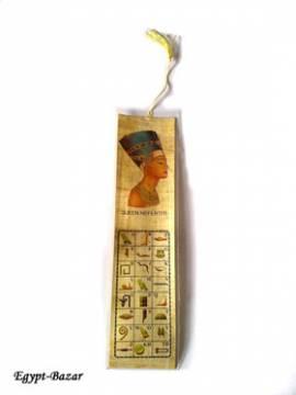 Lesezeichen Papyrus. Nr-122 - Bild vergrößern