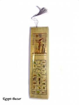 Lesezeichen Papyrus. Nr-130 - Bild vergrößern