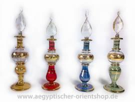 4er-Set Ägyptische Flakons. 14 cm. - Bild vergrößern