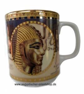 Porzellan-Tasse Tutanchamun.Nr-866 - Bild vergrößern
