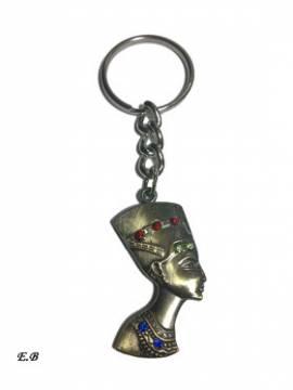 Ägyptischer Schlüsselanhänger Nofretete - Bild vergrößern