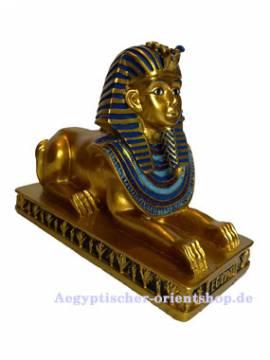 Ägyptische Dekoration Sphinx - Bild vergrößern