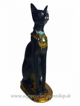 Ägyptische Figur Bastet ,,Katze,, - Bild vergrößern