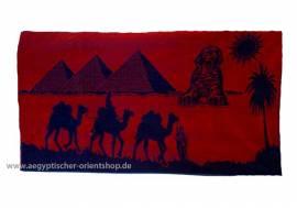 Duschtuch Sphinx & Pyramiden. Nr. 722 - Bild vergrößern