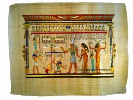 Ägyptischer Papyrus das Urteil - Bild vergrößern