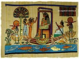 Ägyptischer Papyrus. Nr-512 - Bild vergrößern