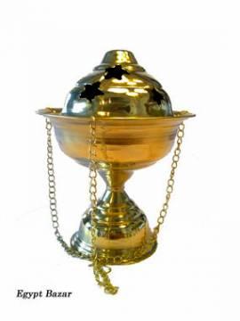 Orientalischer Räucherschwenker 17 cm. - Bild vergrößern