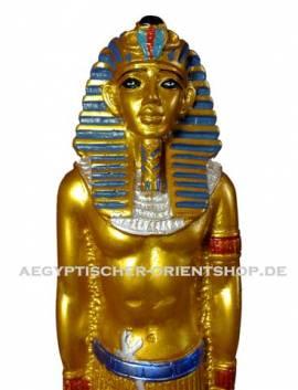 Ägyptische Figur Tutanchamun stehend - Bild vergrößern