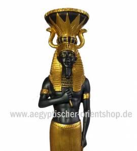 Ägyptischer Kerzenständer Tutanchamun - Bild vergrößern
