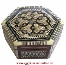 Ägyptische Perlmutt-Box