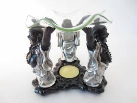 3 Buddha Duftlampe