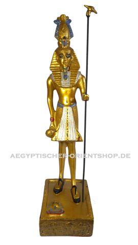 Ägyptische Figur Tutanchamun stehend