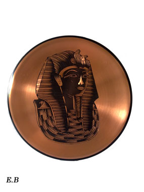 Wandteller kupfer kupfer wanddeko teller pharao for Wanddeko kupfer