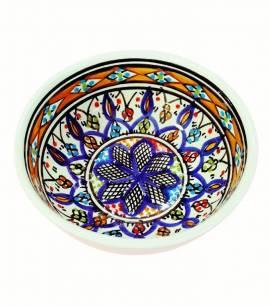 Orientalische Keramikschüssel 10 cm