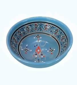 Orientalische Keramikschüssel 15 cm